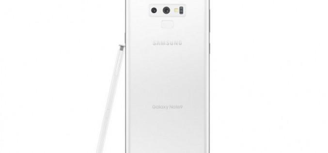 Samsung Galaxy Note 9 將追加純白色版本?