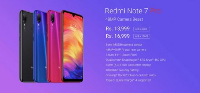 改用IMX586 4800萬像鏡頭及配備S675處理器,紅米 Note 7 Pro 於印度正式發佈!