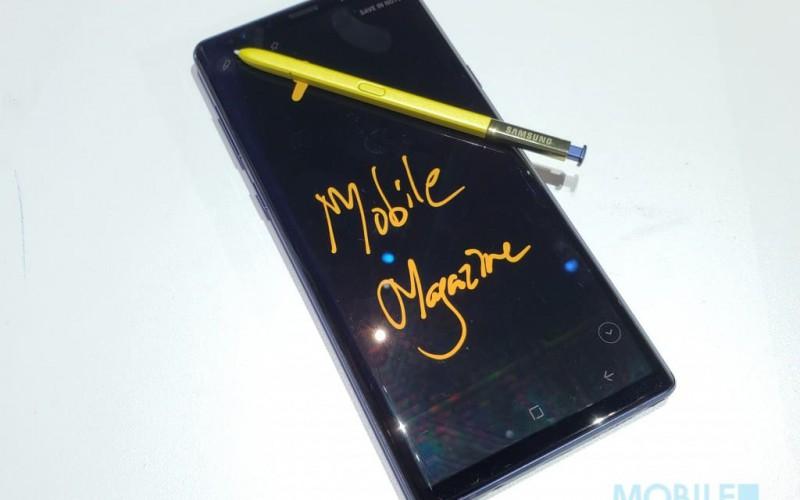 Galaxy Note10 的 S Pen 手寫轉字功能,將加入到 Galaxy Note8 及 Note9 身上!