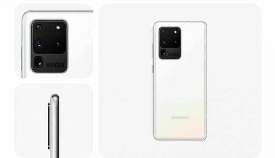 "SAMSUNG 為 Galaxy S20 Ultra 5G 造加全新""Cloud White""新色!"